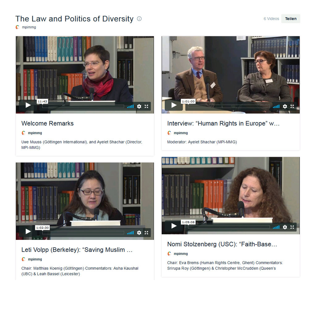 The Law and Politics of Diversity
