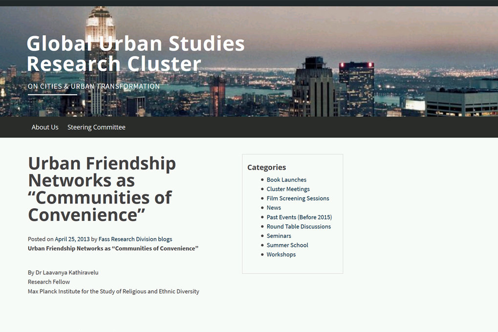 Blog Kathiravelu Urban Friendship Networks