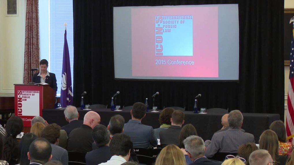 "Keynote Lecture <br /><strong>""An Uncertain World: Charting Citizenship's New Legal Terrain""</strong> <br /><em>The International Society of Public Law (ICON-S) Annual Conference</em> <br />NYU School of Law 
