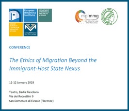 """The Ethics of Migration Beyond the Immigrant-Host State Nexus"""