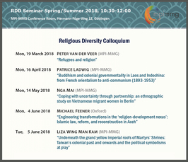 Forthcoming seminars, lectures | Max Planck Institute for the Study