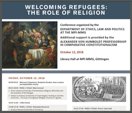 """Welcoming Refugees: The Role of Religion"""