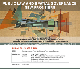 """Public Law and Spatial Governance: New Frontiers"""