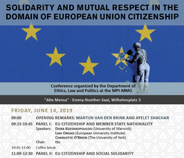 """Solidarity and mutual respect in the domain of European Union citizenship"""