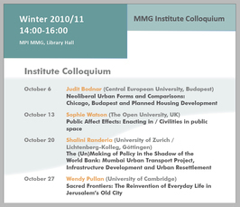Archive | Max Planck Institute for the Study of Religious