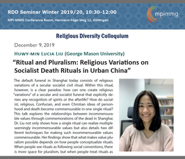 """Ritual and Pluralism: Religious Variations on Socialist Death Rituals in Urban China"""