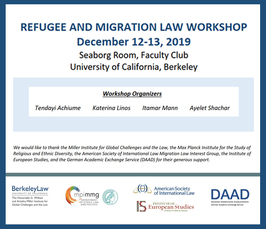 """Refugee and Migration Law Workshop"""